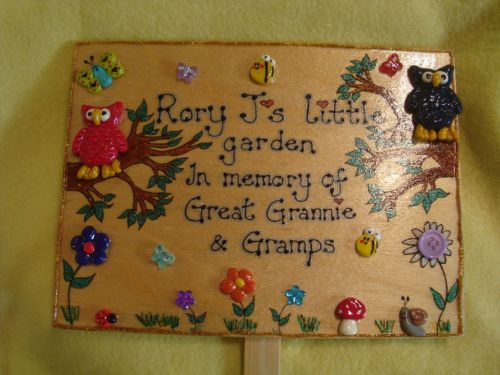 Owl Personalised House Bedroom Wendyhouse Playhouse Garden Sign  Any Phrasing Wooden Plaque Memorial